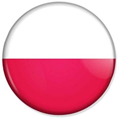 Flagge von Mannschaft Polen