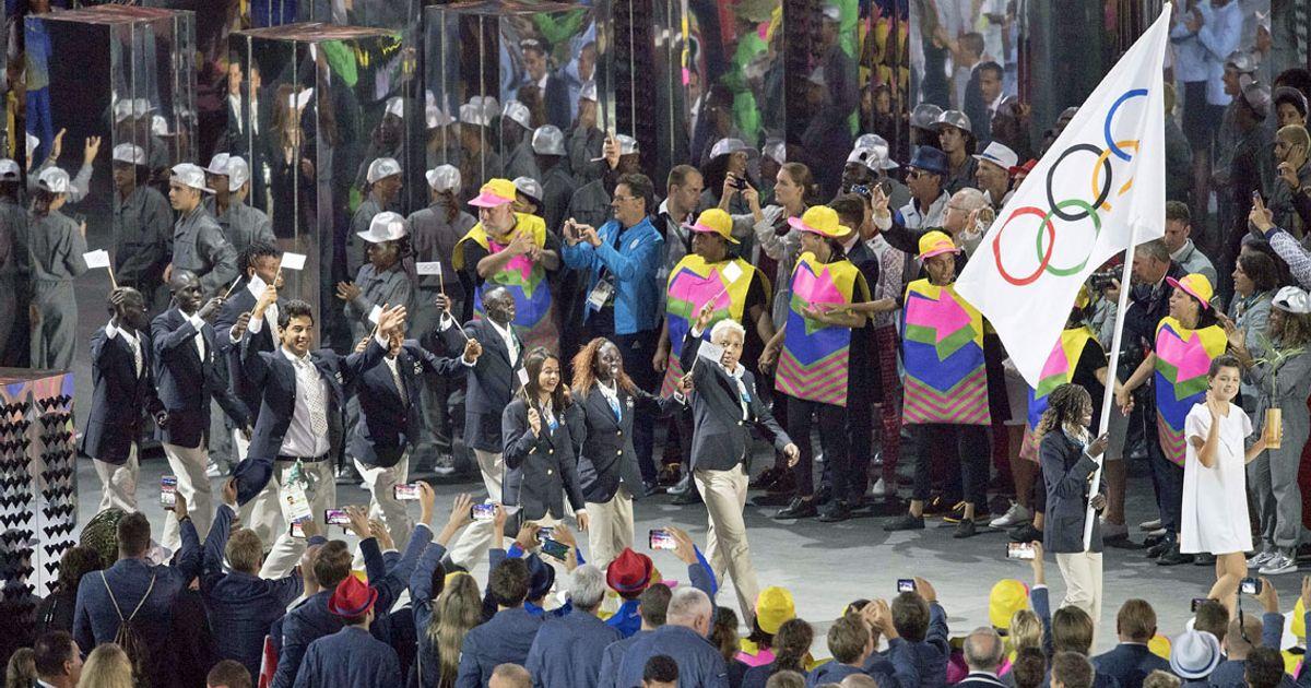 Olympia Flüchtlingsteam
