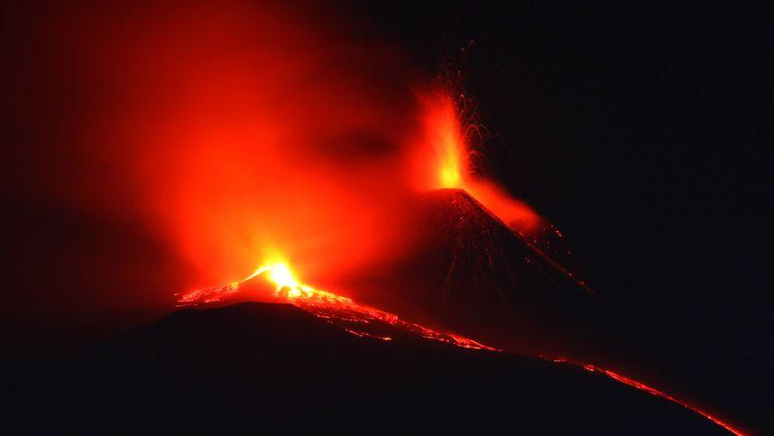 Vulkan Ätna auf Sizilien ausgebrochen: Warnung des Landwirteverbands