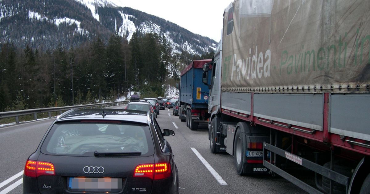 Fernpass Verkehr