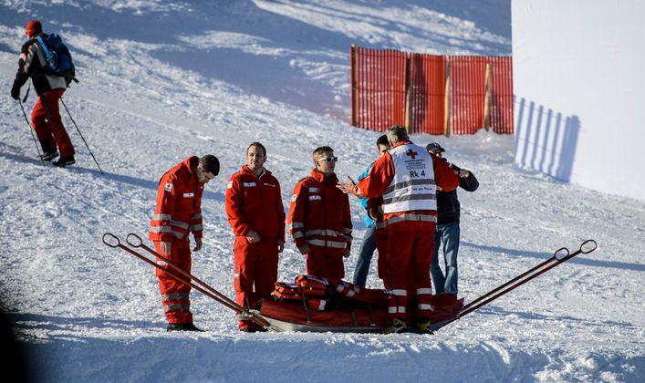 Immer einsatzbereit - die Helfer vom Roten Kreuz.