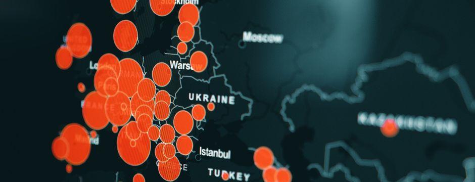 Corona-Zahlen in Europa steigen rasant, aktuell 2445 Infizierte in Tirol