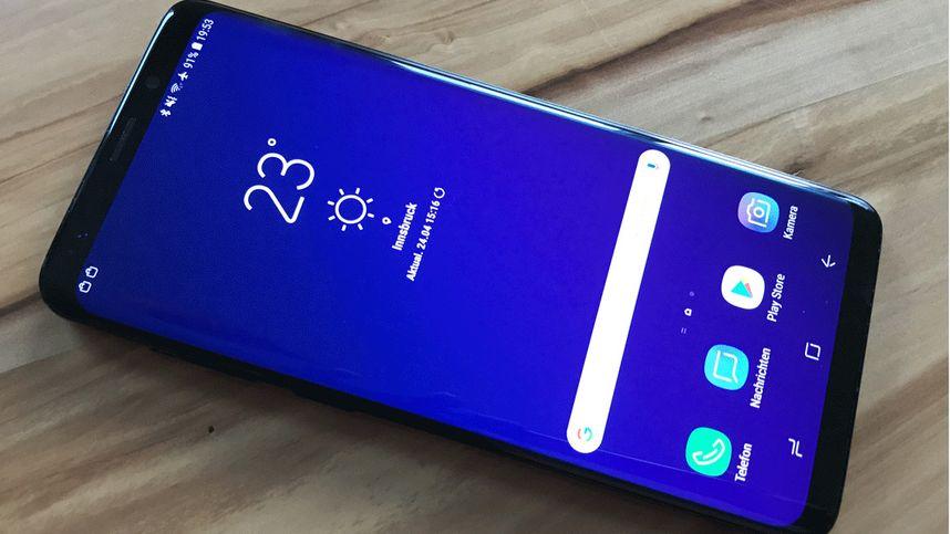 Samsung Galaxy S9+ im Test: Evolution statt Revolution