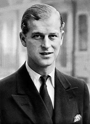 Philip, Prinz von Griechenland auf einem undatierten Foto in jungen Jahren.