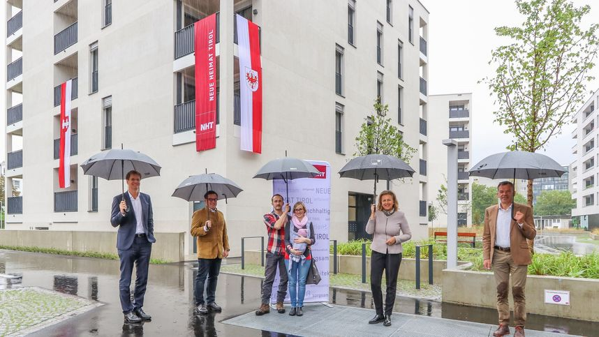 Neue Nht Wohnanlage Mit 171 Einheiten In Innsbruck Fertiggestellt Tiroler Tageszeitung Online Nachrichten Von Jetzt