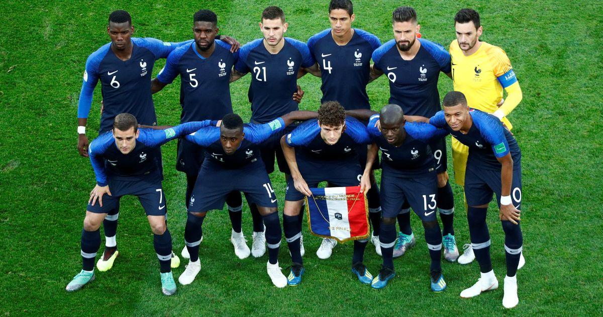 Startelf Frankreich