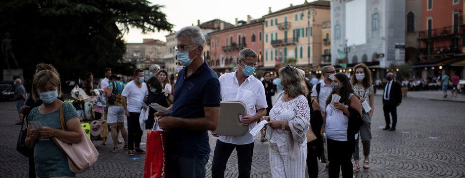 55 Infizierte in Tirol, rund 1,5 Millionen Italiener entwickelten Antikörper