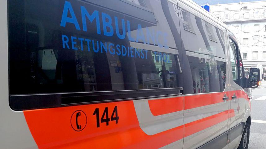Vier Motorradlenker in Tirol bei Verkehrsunfällen verletzt