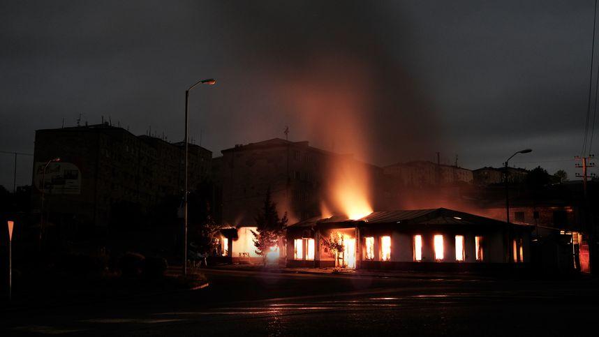 Hauptstadt Von Berg Karabach Mit Raketen Angegriffen Tiroler Tageszeitung Online Nachrichten Von Jetzt