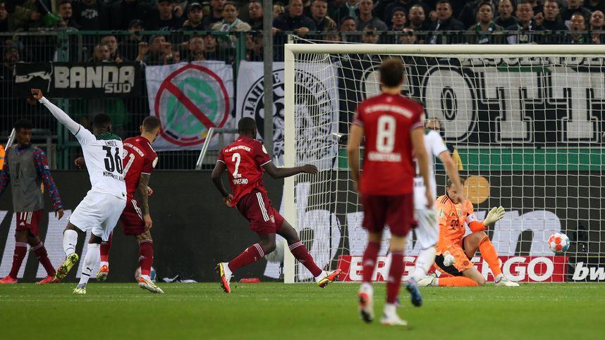 Mönchengladbach demütigte Bayern mit 5:0 im DFB-Pokal