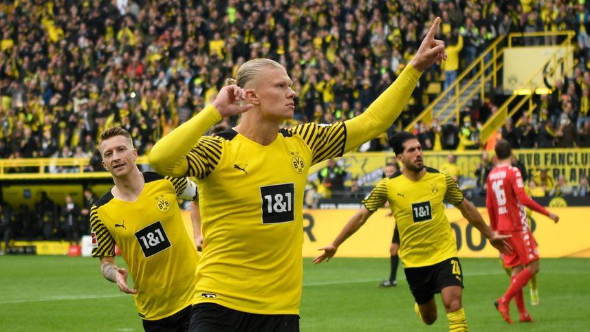 Haaland schoss Dortmund zum Sieg und an die Tabellenspitze
