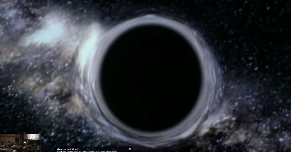 Schwarzes Loch Bild 2021