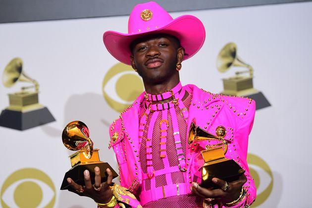 US-Rapper Lil Nas X startete mit zwei Grammys in den Abend.