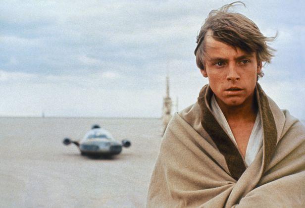 """Luke Skywalker in """"Star Wars: Episode IV – Eine neue Hoffnung"""""""