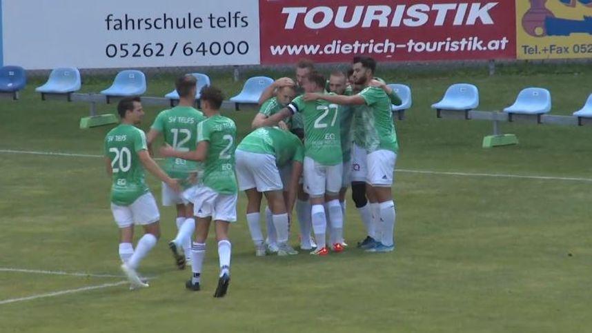 Die Highlights im Video: Telfs nach 2:0 gegen Kufstein weiter Tabellenführer
