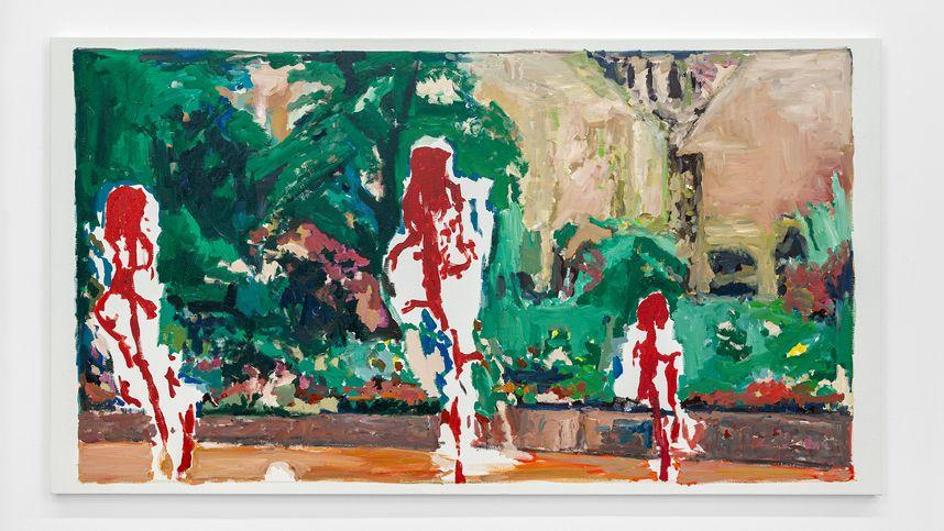 Skrupellos expressiv: Tobias Hantmann in der Galerie Kugler
