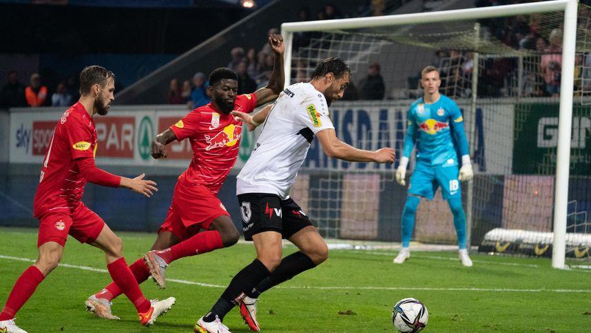 Salzburg verpasste Liga-Rekorde, Rapid in Klagenfurt nur 1:1
