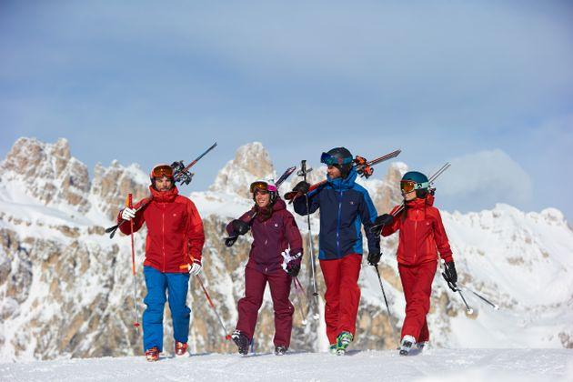 Mit GripWalk wird das Laufen mit Skischuhen erleichtert und der Skitag kann in vollsten Zügen genossen werden.