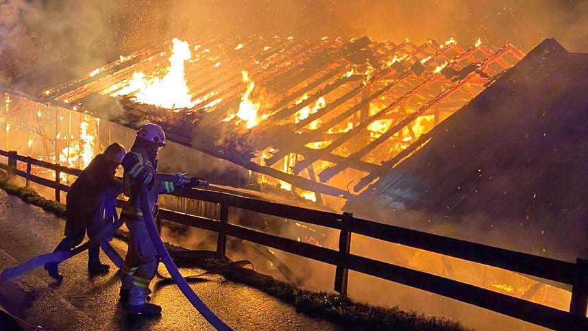 Brandserie in Stanz: Beschuldigter (16) gab eine Brandstiftung zu