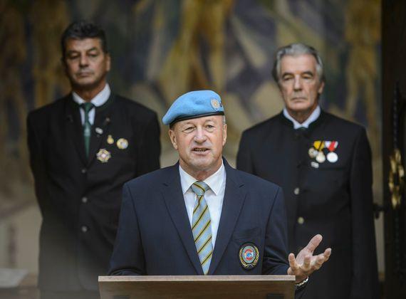 Günter Höfler, Präsident der VÖP Vereinigung Österreichischer  Peacekeeper.