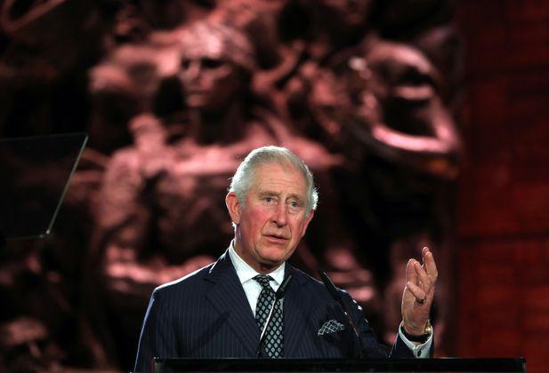 Der britische Prinz Charles.