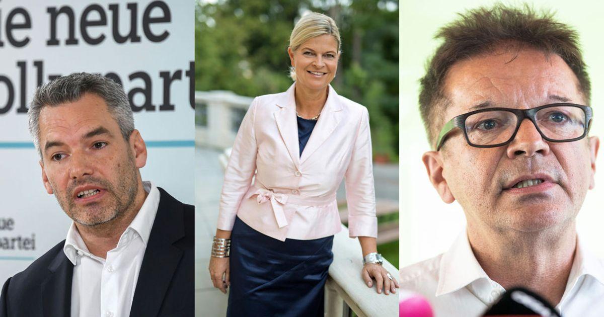 Nehammer Tanner Anschober Die Neuen Minister Im Portrat Tiroler Tageszeitung Online Nachrichten Von Jetzt
