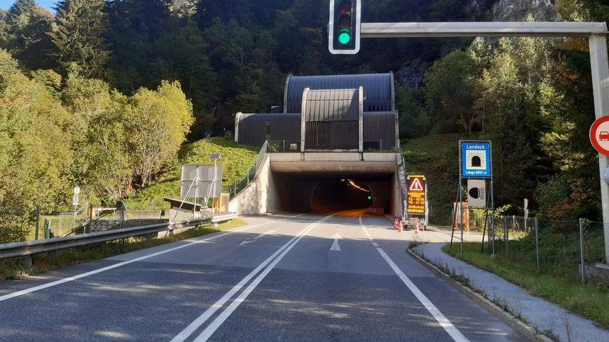 Landecker Tunnel im Oktober für sechs Nächte gesperrt