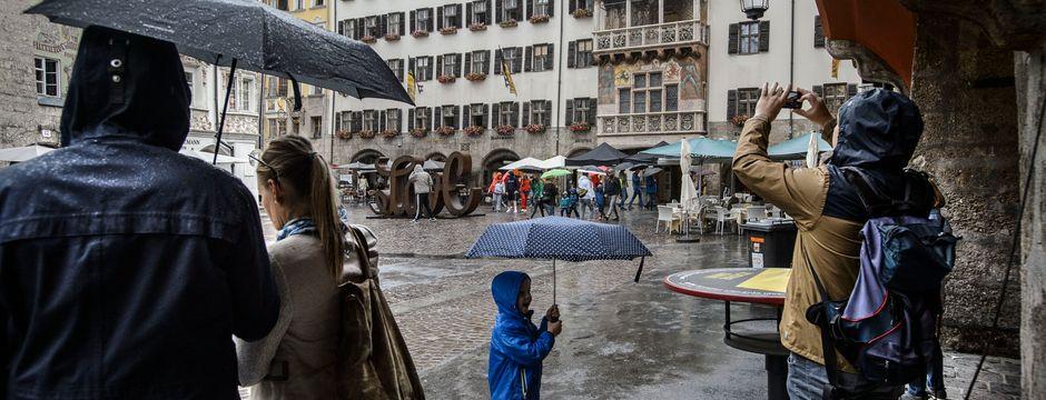 Tirol steht unterkühlte und feuchte erste Augustwoche bevor