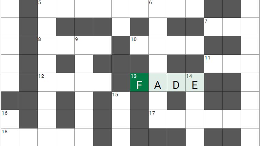 Um die Ecke gedacht, Teil 80: Das etwas andere Kreuzworträtsel