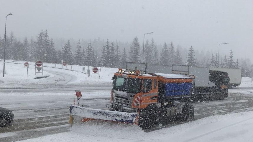 Wintereinbruch: Asfinag mahnt zur Vorsicht