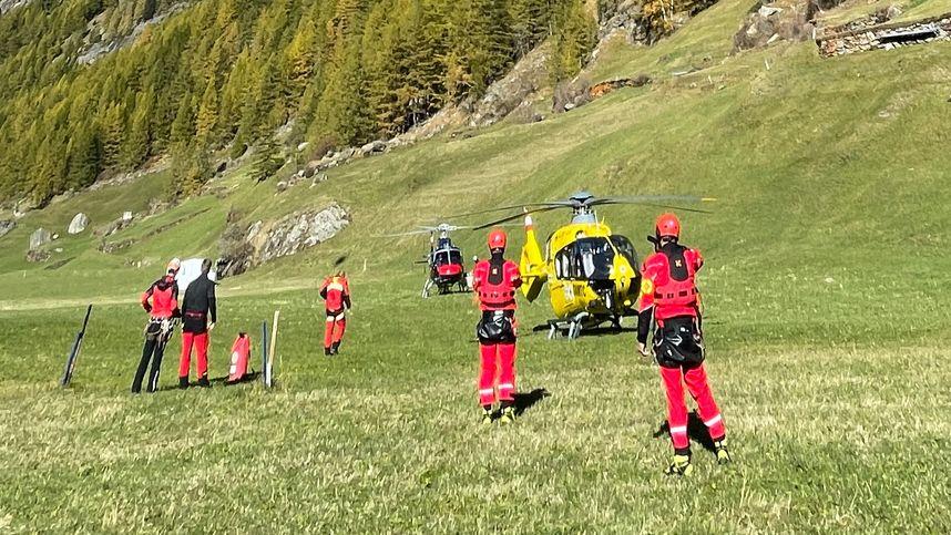 Landwirt (58) stürzte in Sölden in den Tod, Fünfjähriger schwer verletzt