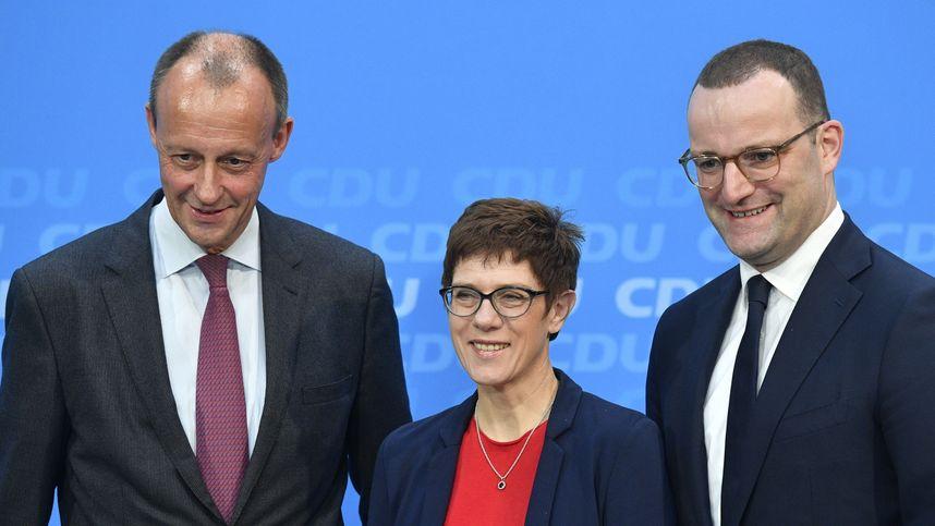 Merz Trifft Kramp Karrenbauer Am Dienstag Zu Cdu Vorsitz Tiroler Tageszeitung Online Nachrichten Von Jetzt