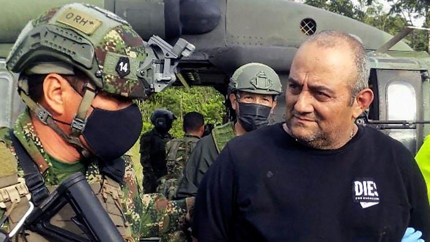 "Kolumbiens meistgesuchter Drogenboss ""Otoniel"" gefasst"
