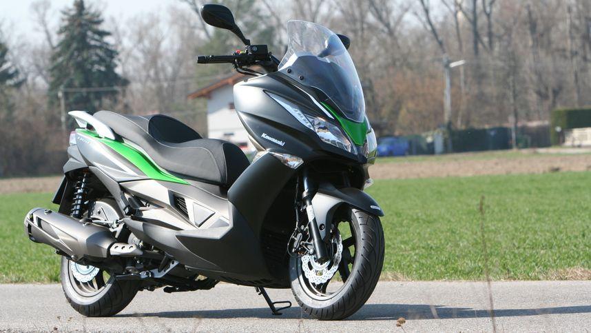 Bei Kawasaki rollt alles im grünen Bereich