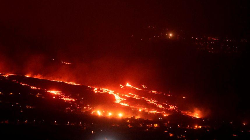 Vulkan auf La Palma trieb erneut Hunderte in die Flucht
