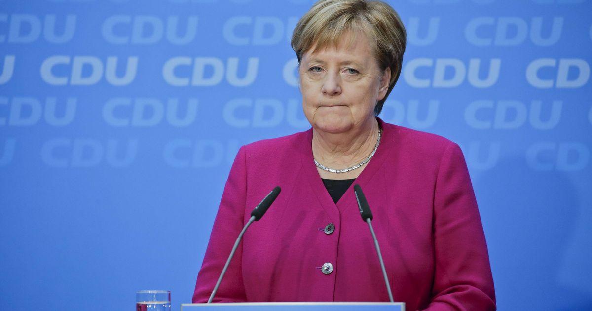 Merkel Rückzug
