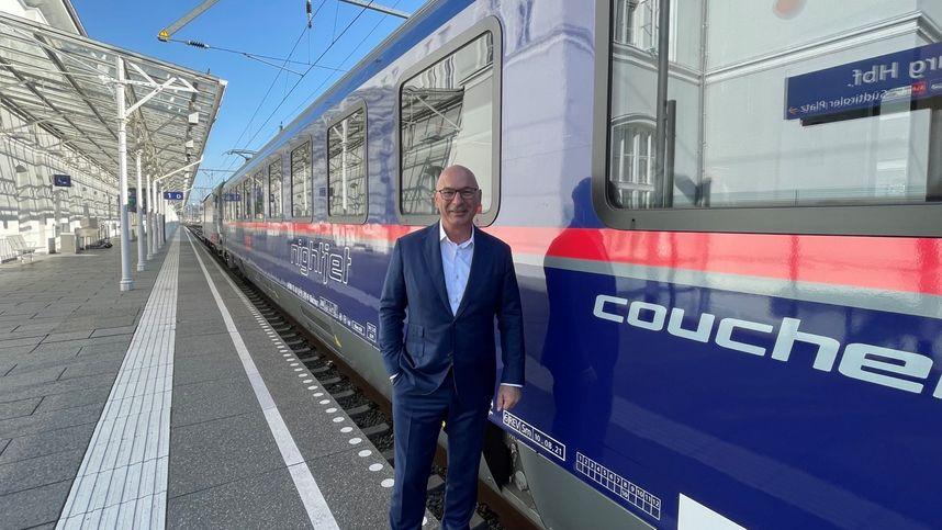 ÖBB-Nachtzüge werden auch im Bezirk Schwaz modernisiert