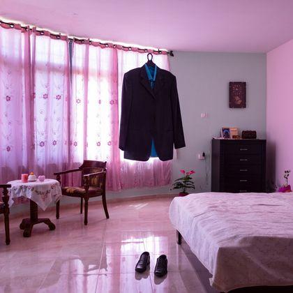 Eines der Fotos aus der Reportage von Antonio Faccilongo über die Folgen des Konflikts mit Israel für palästinensische Paare.