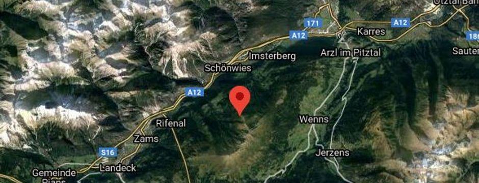 Erdbeben der Stärke 4 erschütterte Großraum Landeck
