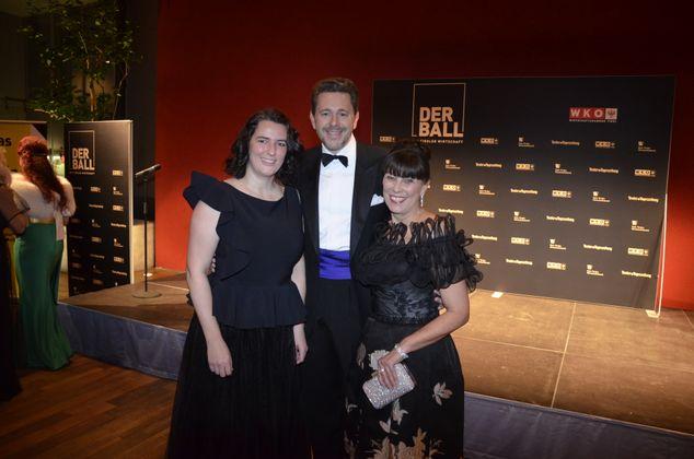 WKO-Chef Harald Mahrer, Vizepräsidentin Martha Schultz, EU-Parlamentarierin Barbara Thaler (l.).