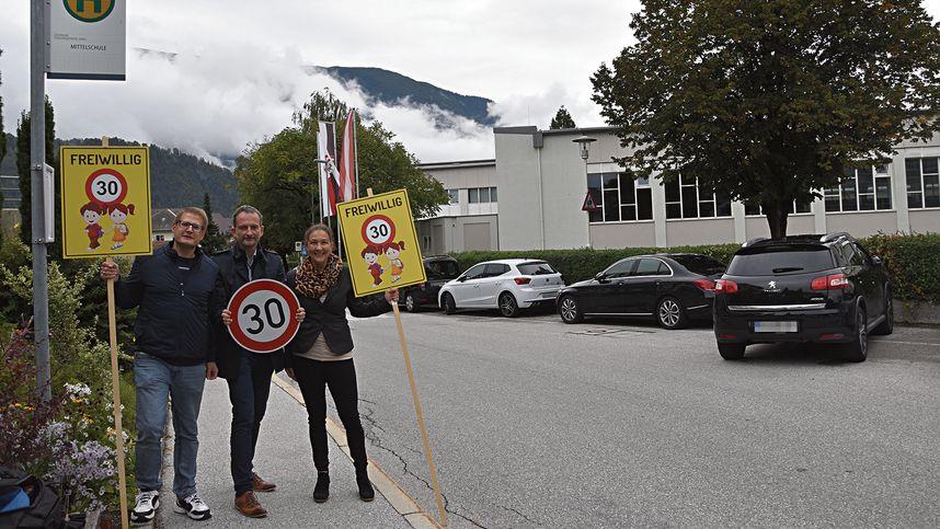 Schwazer Grüne fordern Tempo 30 samt baulicher Maßnahmen