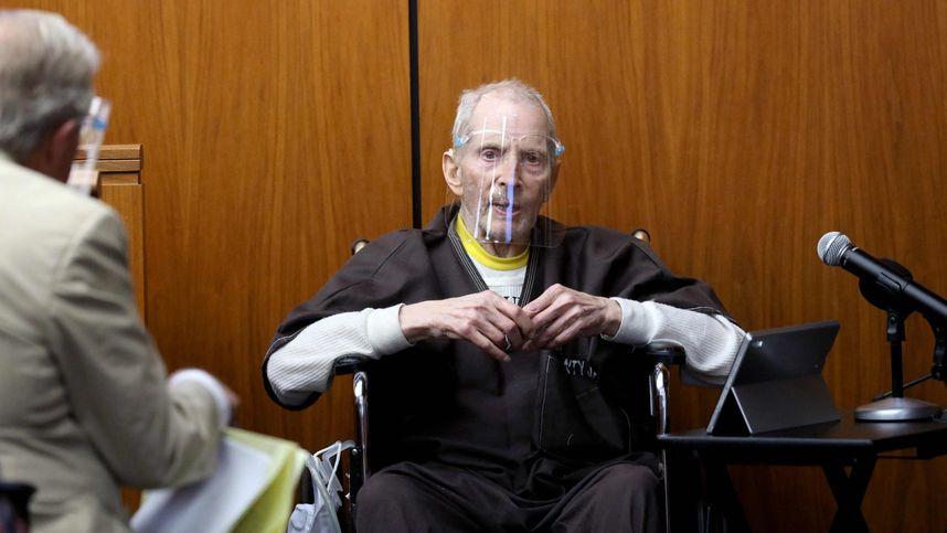 """US-Millionär Robert Durst sagte in eigenem Mordprozess aus: """"Nicht  schuldig""""   Tiroler Tageszeitung Online – Nachrichten von jetzt!"""