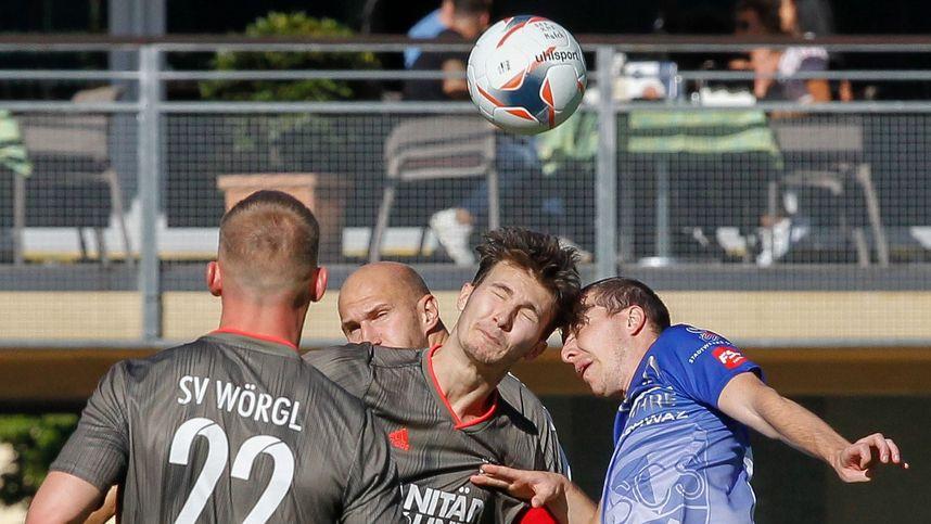 Highlights und Tore im Video: Wörgl gewinnt Verfolger-Duell in Schwaz