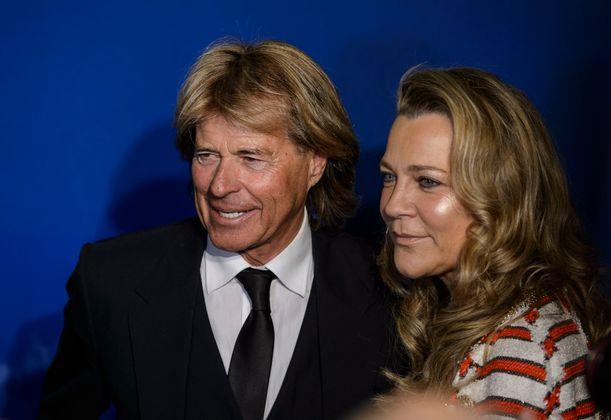 Hansi Hinterseer mit Frau Romana