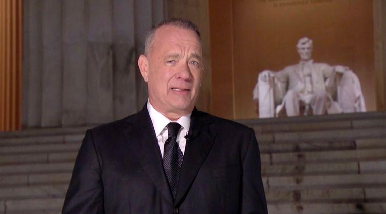 Tom Hanks moderierte das TV-Spektakel.