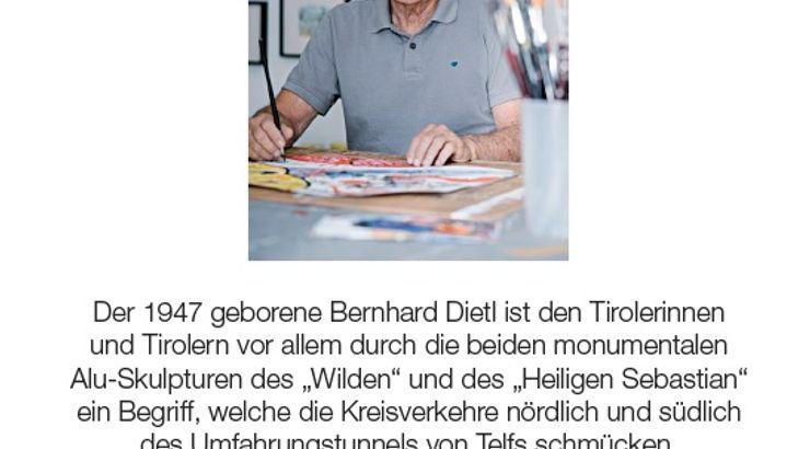 """Ausstellung: Bernhard Dietl - """"Abläufe und Ereignisse""""."""