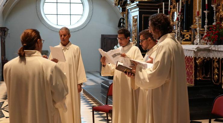Choralprobe der Schola Gregoriana Wilthinensis